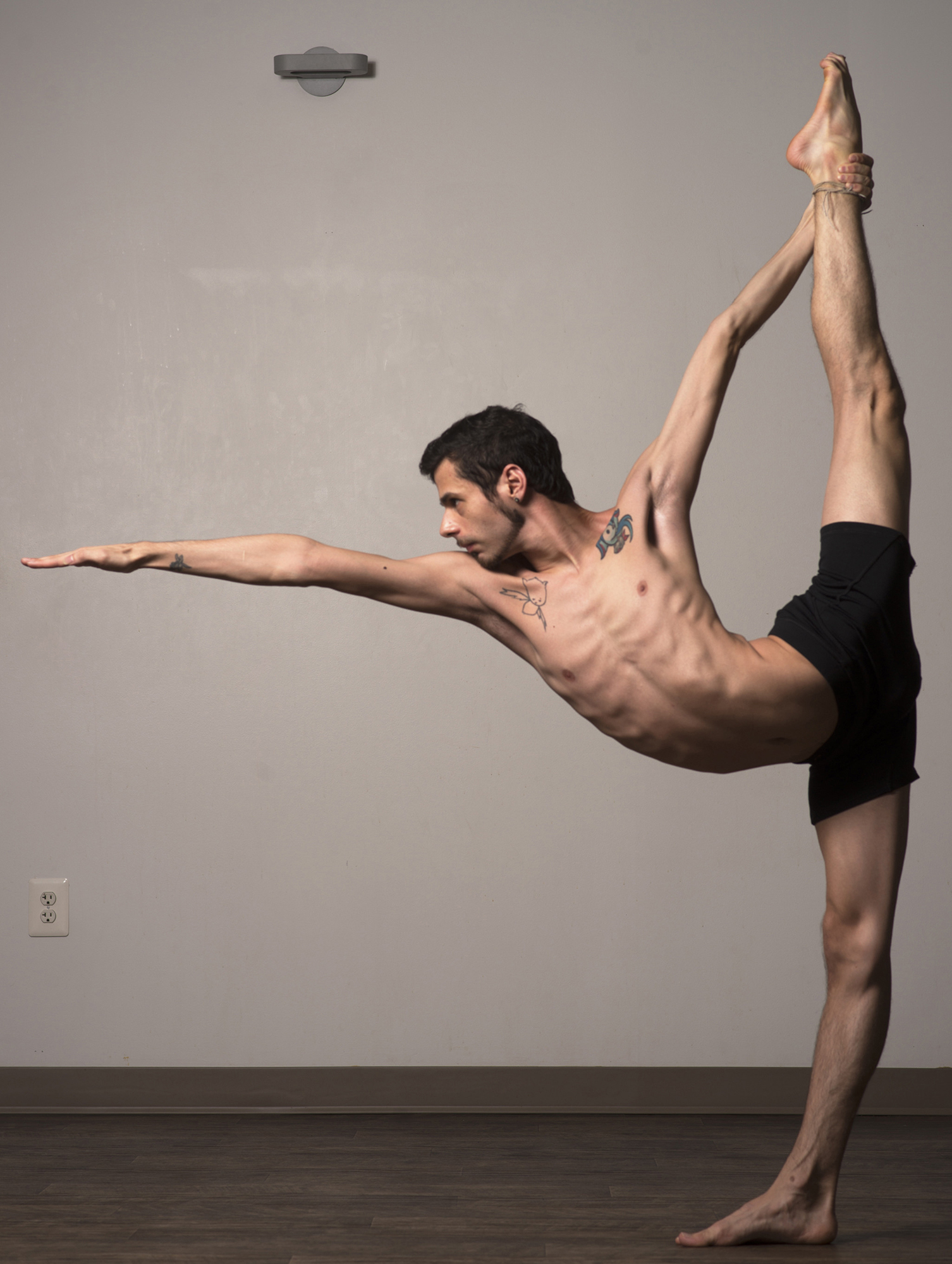 Adrian Hummell A Bikram Yoga Instructor From Bethesda Maryland Is Photographed Demonstrating